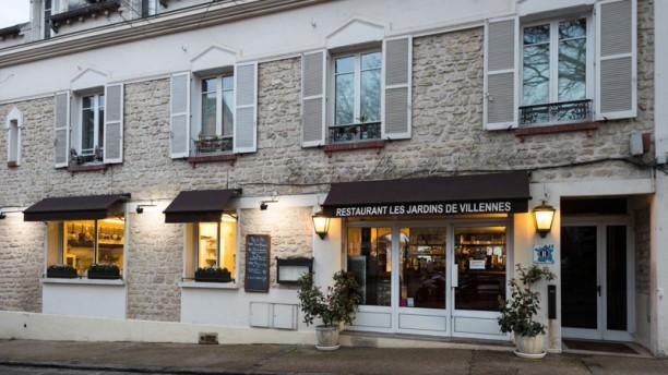 Les jardins de villennes restaurant 55 rue du port for Restaurant jardin yvelines