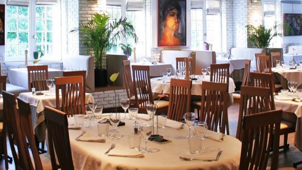 Carte Blanche Salle du restaurant