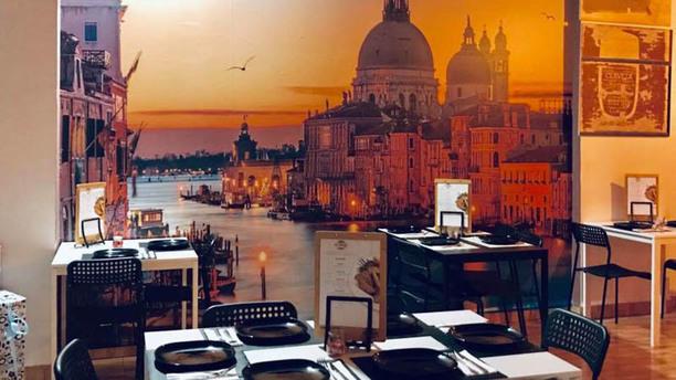 ¡Si,Quiero! Restaurante Italiano Vista de la sala