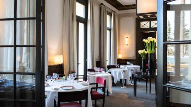 La Table du Royal - Hôtel Royal Riviera Vue de l'intérieur