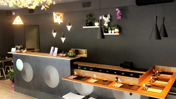 O My Sushi Salle du restaurant