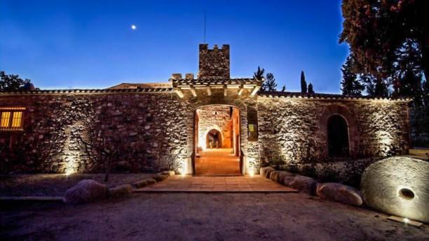 Castell de Rosanes Vista entrada