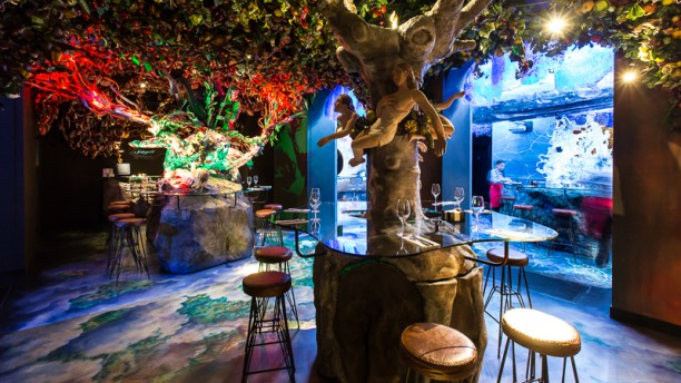 Restaurante pera samfaina en barcelona las ramblas for Los restaurantes mas clandestinos y secretos de barcelona
