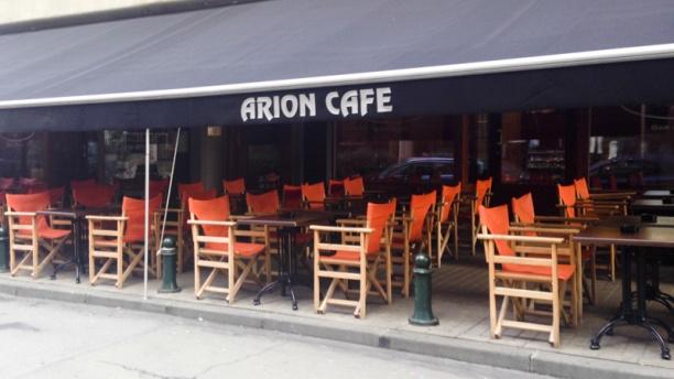Arion Café Vue terrasse