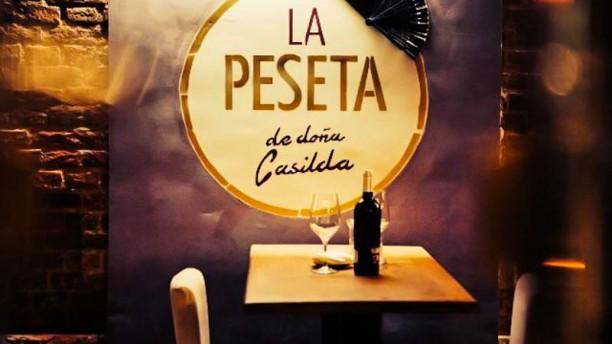 La Peseta de Doña Casilda Detalle mesa