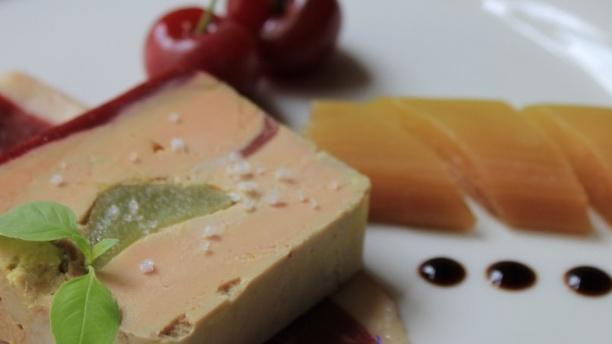 Le Cheval Blanc Foie gras
