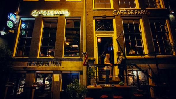 Café de Paris Ingang Rokin