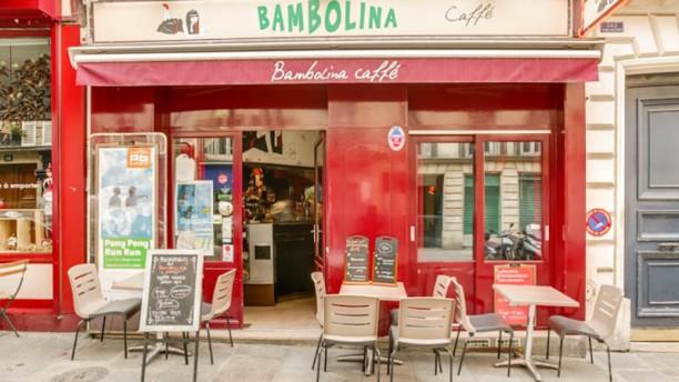 Bambolina Caffé devanture / terrasse