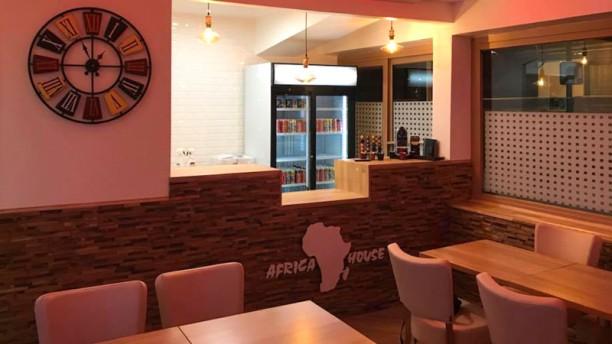 Africa House Salle du restaurant