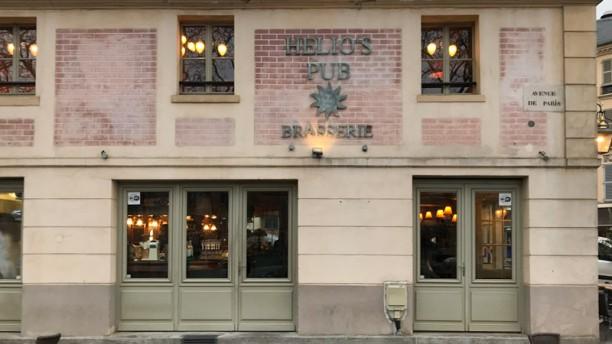 Helio's Pub Entrée