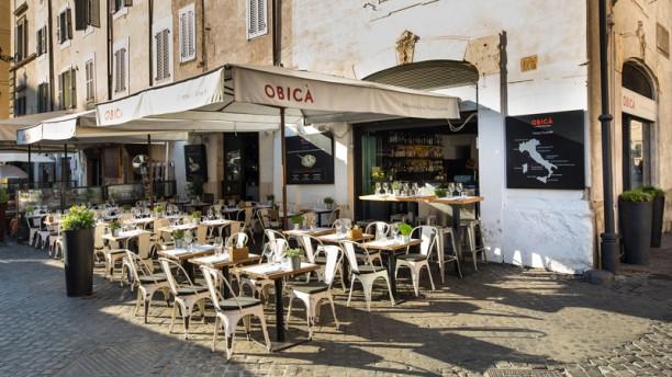 Obicà Mozzarella Bar, Campo dei Fiori La terrazza