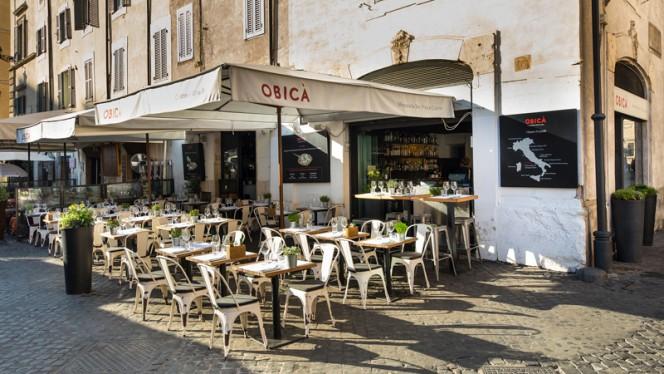 La terrazza - Obicà Mozzarella Bar, Campo dei Fiori, Rome