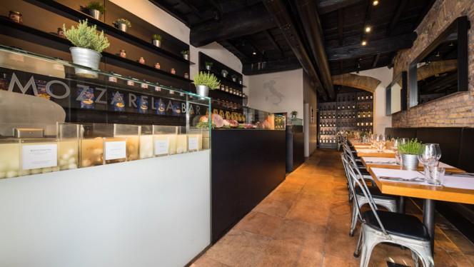 Sala - Obicà Mozzarella Bar, Campo dei Fiori, Rome