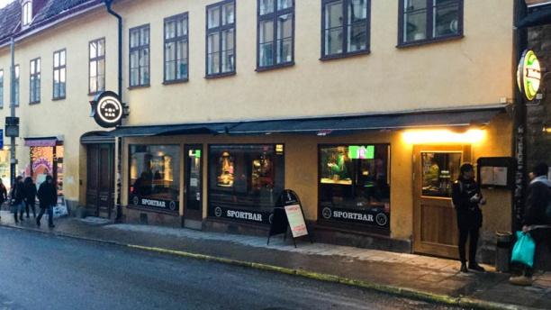 Famous bar External view