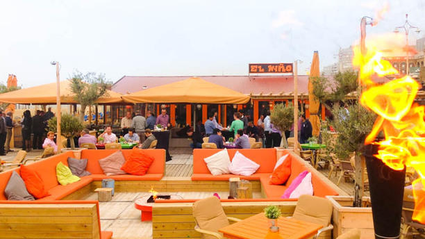 El Niño Beach Club het restaurant
