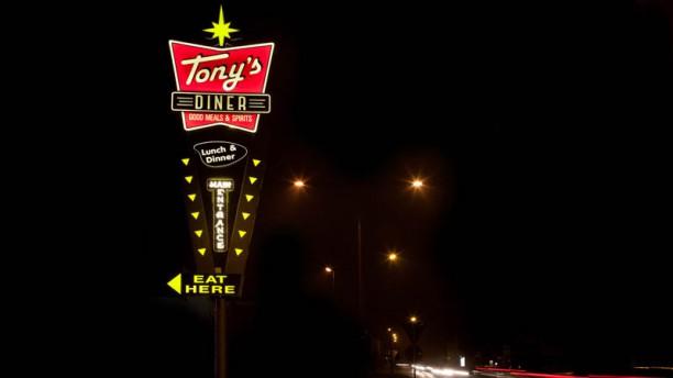 Tony's Diner L'insegna