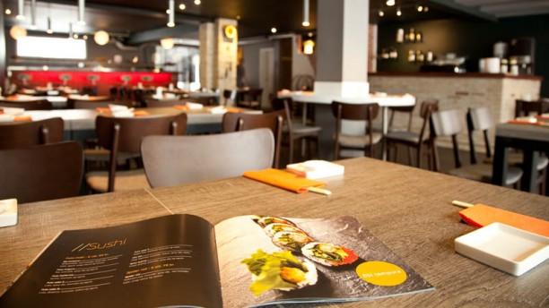 Umashi Sushi Restaurant salle