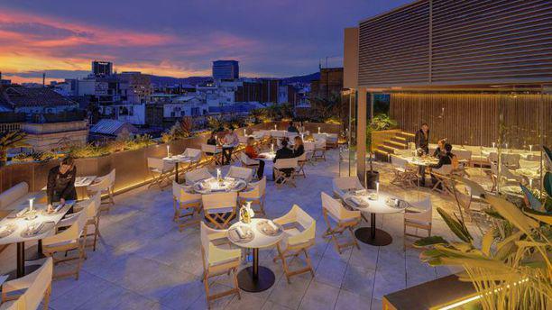Restaurante The Mood Rooftop Terrace Hotel The One En