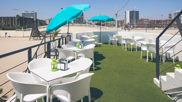 Barcelona Beach Club Terraza