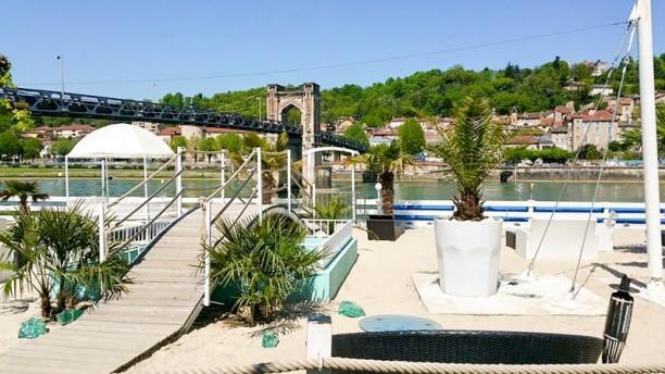 Next Lounge Terrasse plage