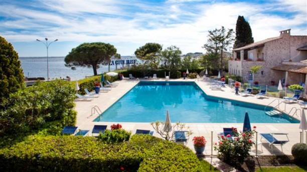 Hôtel Restaurant La Côte Bleue Vue de la piscine
