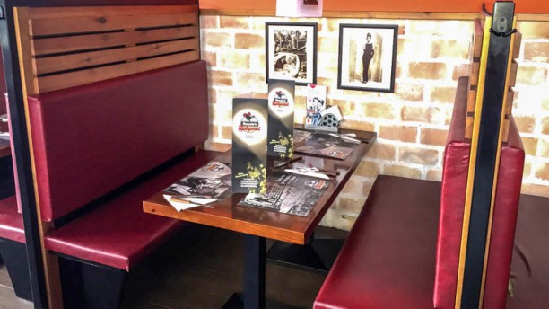 Ronnie´s Family Restaurant Detalle mesas