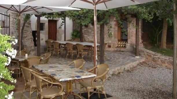 Can Ribes Vista terraza