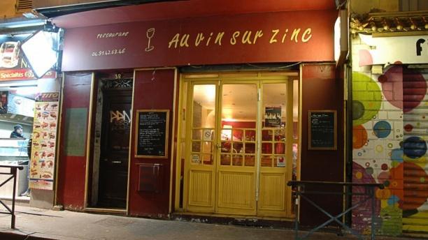 Au Vin sur Zinc Bienvenue au restaurant Au Vin sur Zinc