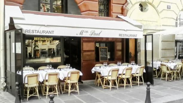 restaurant restaurant paul paris ile de la cit. Black Bedroom Furniture Sets. Home Design Ideas