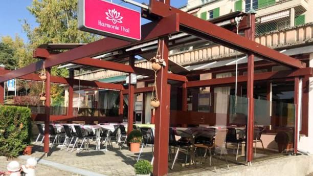 Harmonie thai in pully restaurant reviews menu and for Restaurant exterieur