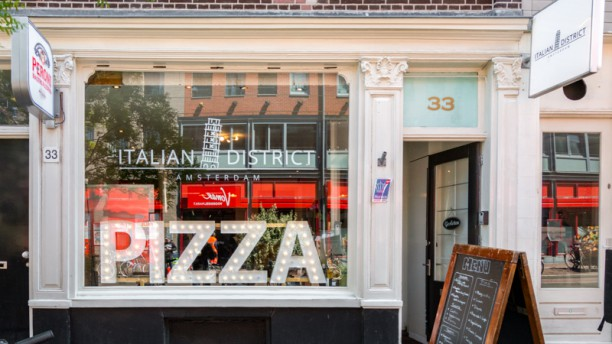 Indian Kitchen Kinkerstraat.Italian District Pizza Bar In Amsterdam Restaurant Reviews