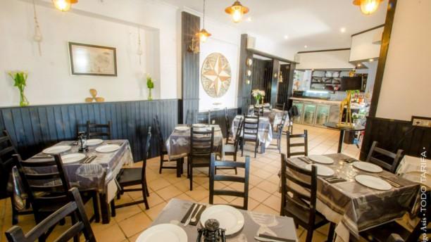 Restaurante Barlovento Tarifa Vista del interior