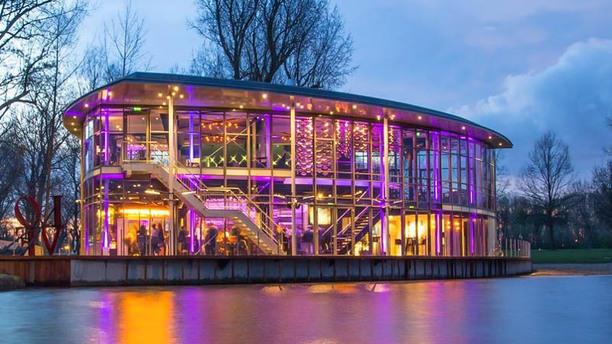 The Boathouse Kralingen Ingang, avond