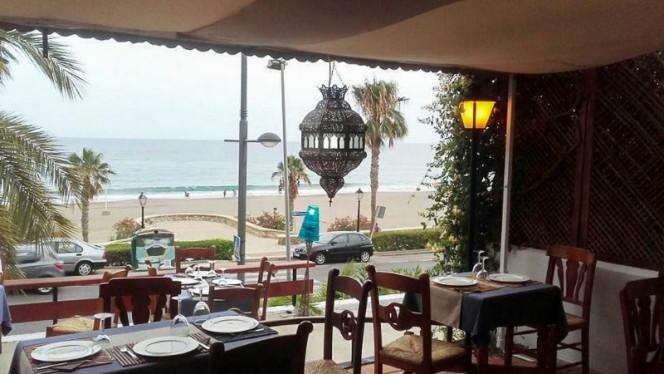 Vista sala - Rick's Café, Mojacar