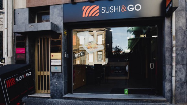 Sushi Store Main entrance Sushi&GO