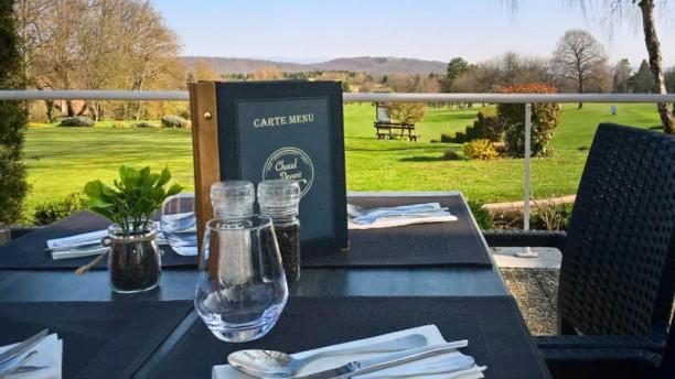 Restaurant du Golf, Chaud Devant Terrasse vue sur le green