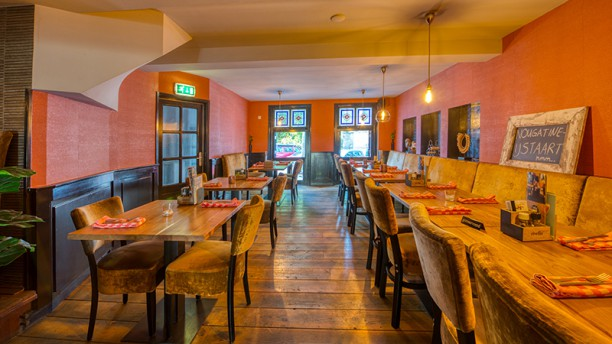 Restaurant Vrienden Vue de la salle