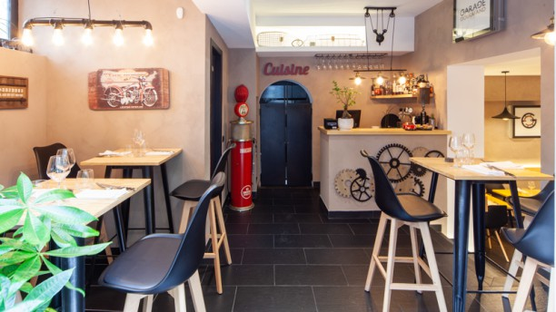 Garage Gourmand Interno