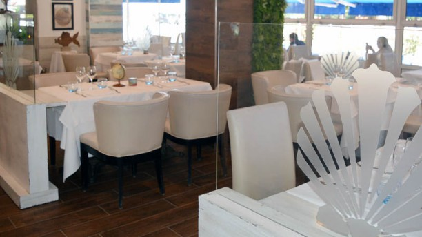Albert 1er - Chez Mô Salle et veranda vue mer - restaurant Chez Mo Albert 1er