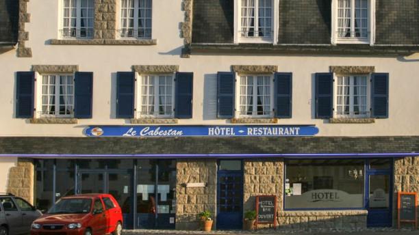 Auberge du Cabestan Audierne Esquibien façade
