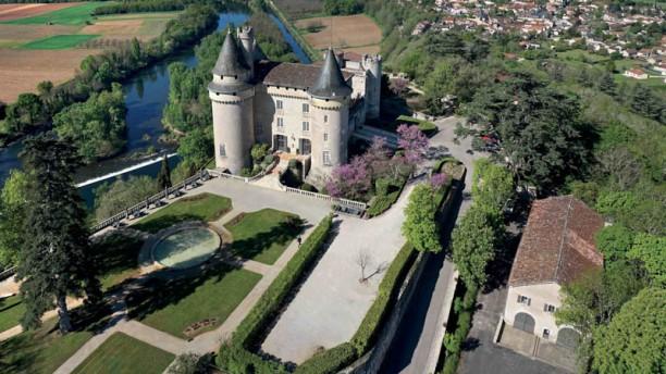 Château de Mercuès Façade