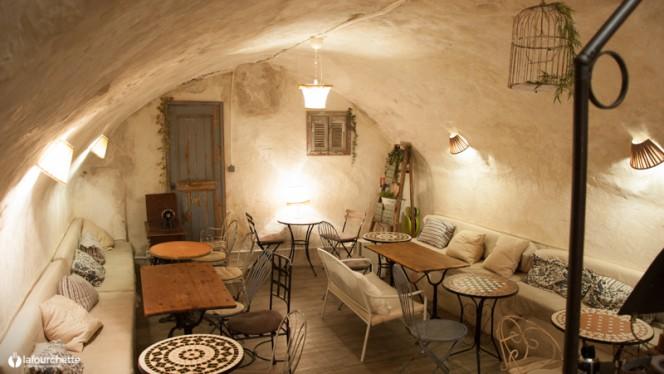 Vue des tables - Coco Bohème, Aix-en-Provence