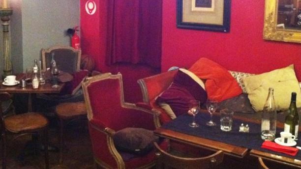 Café des Antiquaires Aperçu de la salle