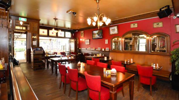 Brasserie Hoegaarden Het restaurant