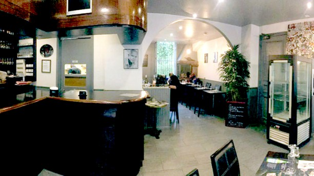 La Brasserie Créole Paris Vue del la salle