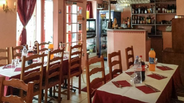 Rani Restaurant Vue de la salle