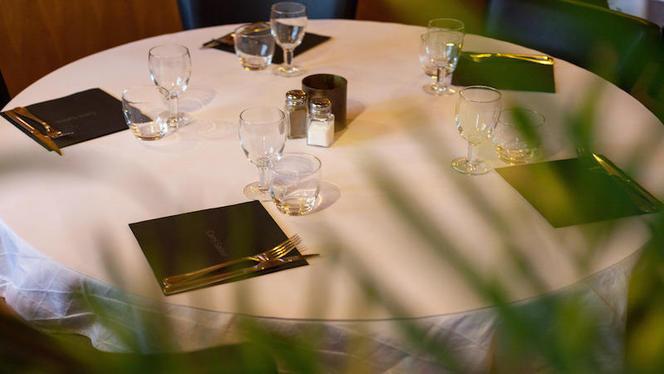 table dressée - Carré Saône, Lyon