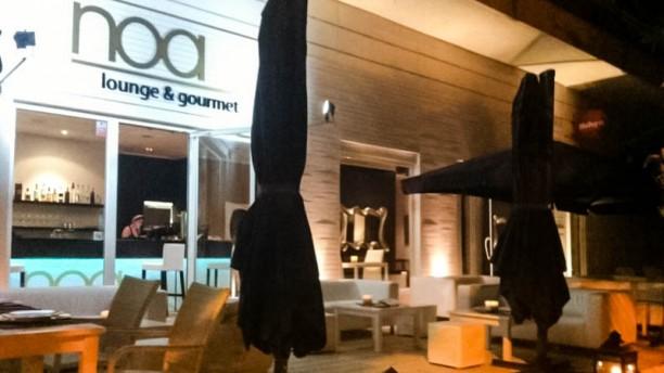 Noa Lounge & Gourmet entrada
