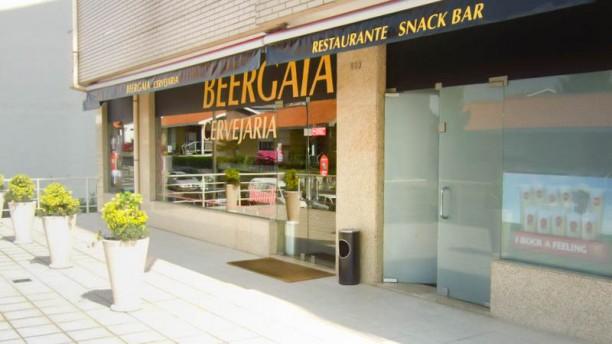 Beergaia Cervejaria fachada do restaurante
