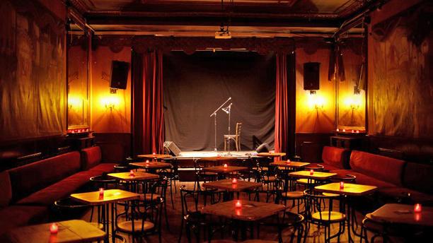 Café de Paris Vue de la salle